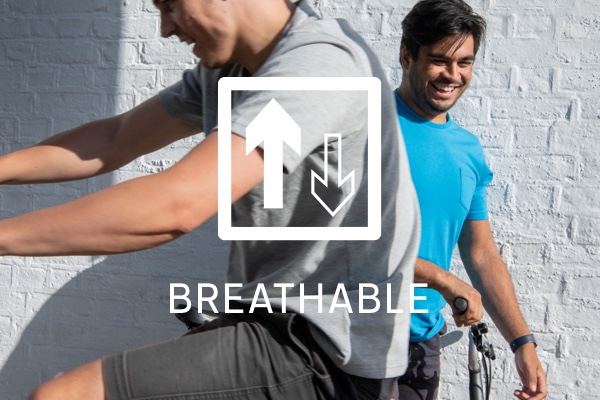 Brompton City Apparel - Breathable key feature