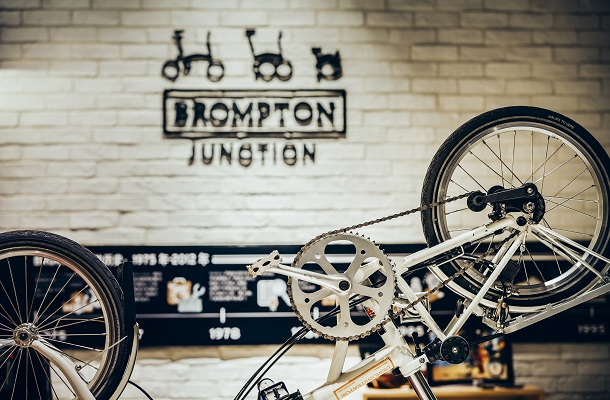 Brompton Junction Folding Bike